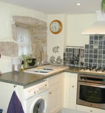 the kitchen at the gables self-catering