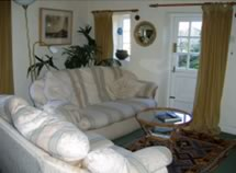 comfortable seating at the gables cottage, higher trevethan, redruth